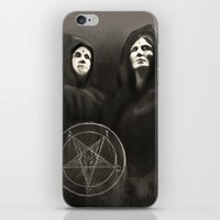 witchcraft iPhone & iPod Skins featuring Witchcraft by Corpse inc