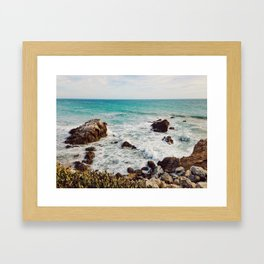 Leo Carrillo State Beach, Malibu Framed Art Print