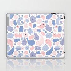 Colors Of The Year Doodle - Rose Quartz & Serenity - Pantone Laptop & iPad Skin