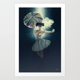 Columbina moonlight Art Print