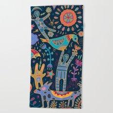 Balancing Act Beach Towel
