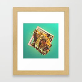 And The Glass Handed Heads Framed Art Print