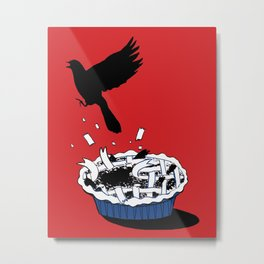Blackbird Pie  Metal Print