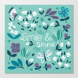 Smile & Shine Canvas Print