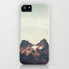 Mountain Ridge Morning iPhone Case
