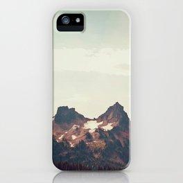 Mountain Ridge Morning iPhone Case