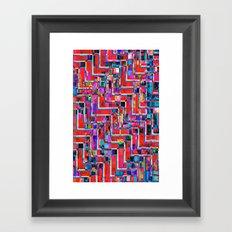 Pixel Repeat no.2 Framed Art Print