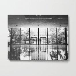 Crown Hall Interior Metal Print
