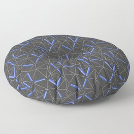 Purple Prisma Floor Pillow