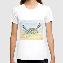 Colorful Blue Crab T-shirt