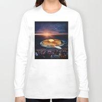 breakfast Long Sleeve T-shirts featuring Breakfast by Lerson