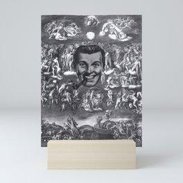 SALVATION OR SALIVATION ? Mini Art Print
