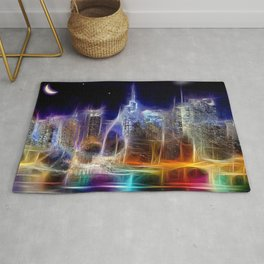 Starry Night New York City Rug