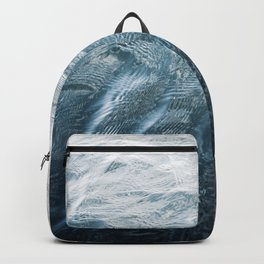 Blue Water | Landscape Photography | Blue | Ocean | Sea | Waves | Beach | Moody |Travel Backpack