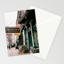 Mulberry Market in Philly Stationery Cards