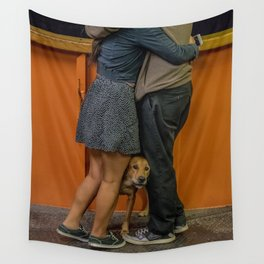 Puppy Love. S.I. Ferry Wall Tapestry