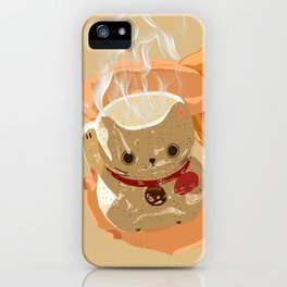 Lunar Cat iPhone Case