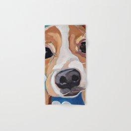Golf Ball Puppy Hand & Bath Towel