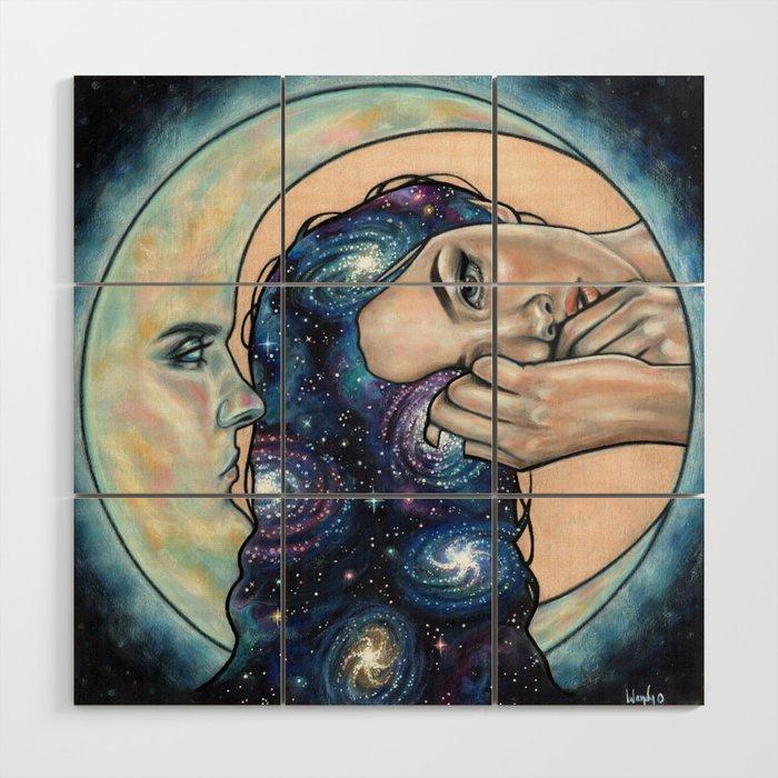 Celestial Wood Wall Art by wendyortiz | Society6