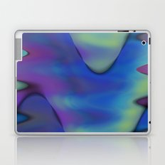 tie dyed waves Laptop & iPad Skin