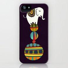 Elephant Circus iPhone (5, 5s) Slim Case