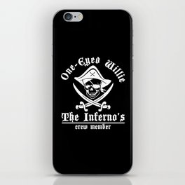 One eyed Willie - the inferno's crew member iPhone Skin