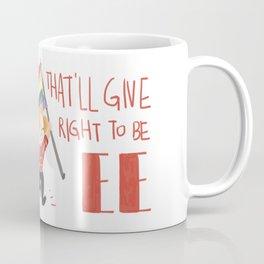 a fight to be free Coffee Mug