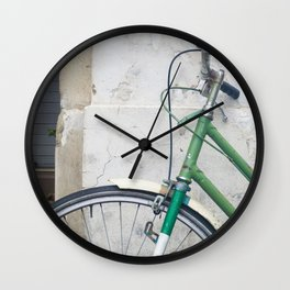 Classic bike Italy Wall Clock