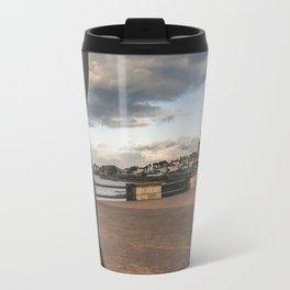 Irish landscape through a shell Travel Mug