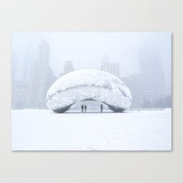 Super Bean Sunday (Cloud Gate) Canvas Print