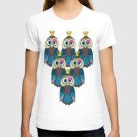 minions T-shirts featuring Owl Minions  by Gabriel J Galvan