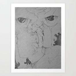 Bulls-eye View Art Print