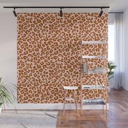 Leopard Print 2.0 - Caramel Blush Wall Mural