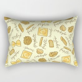 Know Your Pasta Rectangular Pillow