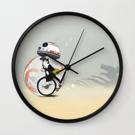 CAT INSIDE DROID Wall Clock