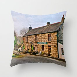 The Lamorna Wink Throw Pillow