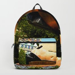 World Trade Center Globe jGibney The MUSEUM Society6 Gifts Backpack