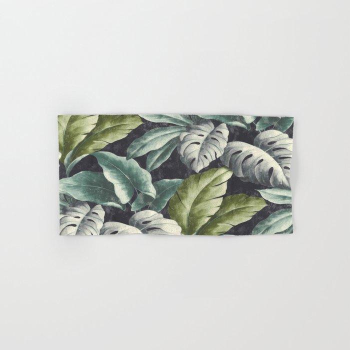 botanical pattern Hand & Bath Towel