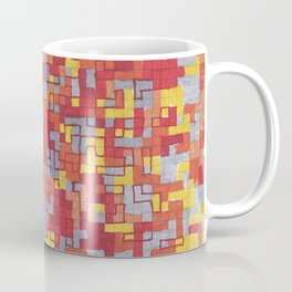 Lava Blocks Coffee Mug