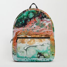 Painted Reality #abstract #painting Backpack