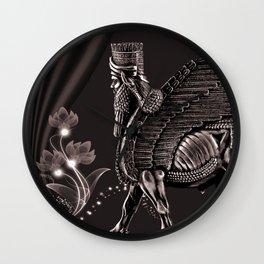 Lamassu ( Wingd Bull) Wall Clock