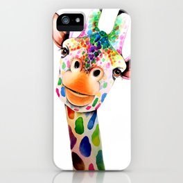GIRAFFE--ART iPhone Case