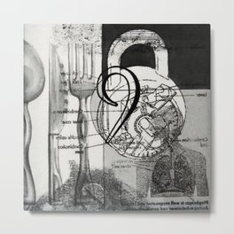 nine Metal Print