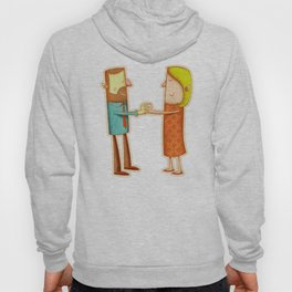 Illustrated H Hoody