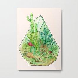 DeserTerrarium Metal Print