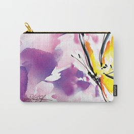 Butterfly Song No. 50 by Kathy Morton Stanion Carry-All Pouch