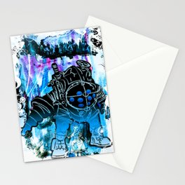 "Bioshock ""Big Daddy Little Sister"" Stationery Cards"
