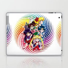 Sailor Moon - Chibi Candy (white edition) Laptop & iPad Skin