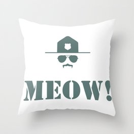original meow! Throw Pillow