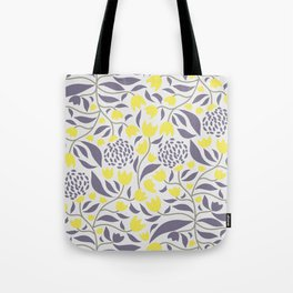 Yellow flowers field Tote Bag